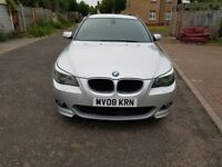 2008 BMW 5 Series 2.0 520d M Sport Touring 5dr Automatic @07445775115 Leather+MSport+Auto+Diesel+HPI