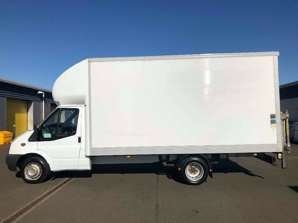 d5bd6cc289ee03 FORD TRANSIT LUTON 350 TDCi 125ps EXTRA LONG WHEEL BASE WITH TAIL LIFT