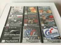 Sony PlayStation Games in excellent condition