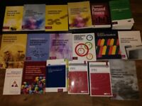Variety of accountancy/audit/finance books