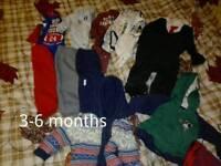Baby boy clothes bundle 3-6 months