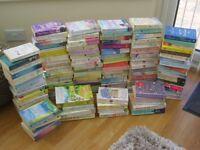 115 Womens Romance Paperback Books