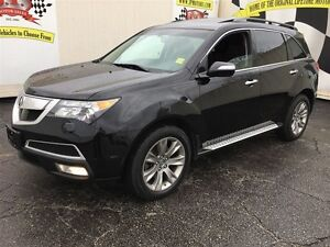 2013 Acura MDX Elite Pkg, Navigation, Leather, Sunroof, AWD