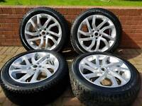 NEW 20'' LAND ROVER DISCOVERY HSE ALLOY WHEELS & TYRES RANGE SPORT 4 5 T5 BARGAIN