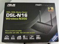 !!Was 20/NOW 15! !BARGAIN!! ASUS DSL-N16 Wireless-N300