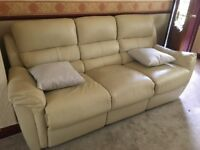 3 & 2 seater recliner sofa (can deliver)