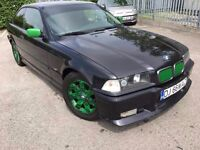 LHD LEFT HAND DRIVE Bmw e36 318is New UK Mot