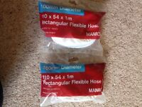 Flexible Hose Manrose 100mm diameter new in sealed packs