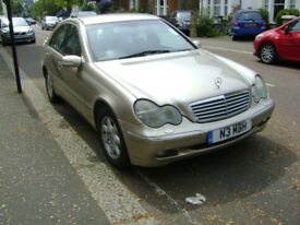 Mercedes Benz C Class C220 CDI 2000 for Parts or Panels can be Repaired Buyer Collects £1450 ono
