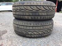 Tyres x2 .... 195/60R 15