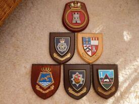 Presentation shields.