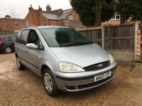 Ford Galaxy 1.9 TDi Zetec 5dr (7 Seats), NEW TIMING BELT, SOLD AS SPARE AND REPAIR AS ITS OVER HEATS