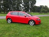 SEAT LEON REFERENCE SPORT TDI 57 PLATE. 75,819 MILES, WITH NINE SERVICE STAMPS. MOT AUGUST 2017.