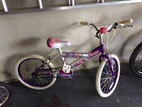 Girls bike age 4-9