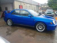Subaru impreza wrx turbo bugeye 2002