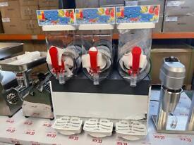 Commercial Triple Head Brand New Large Capacity Slush Machine 3x15 Liter Capacity
