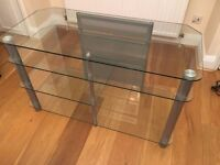 Optimum TV + Hi-Fi stand table in Excellent condition