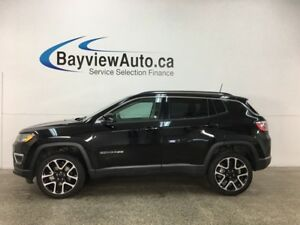 2017 Jeep Compass Limited - ALLOYS! REM STRT! ROOF RACK! HTD...