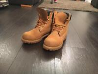 Timberland mens boots size 6
