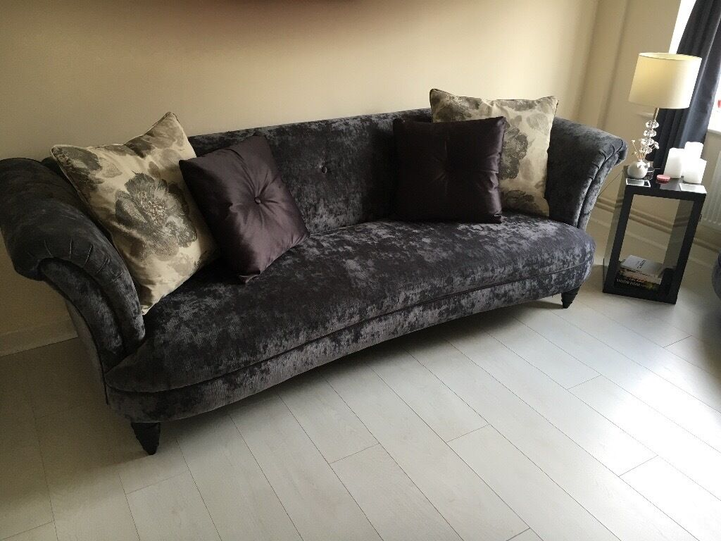 Grey Fabric Sofas Dfs Hereo Sofa