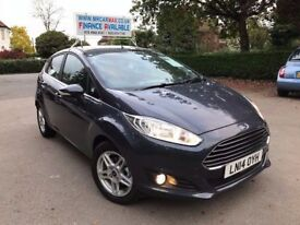 2014 FORD FIESTA ZETEC 1.0 ECOBOOST POWERSHIFT AUTOMATIC 23700 MILES BLUETOOTH FINANCE £172 PR MONTH