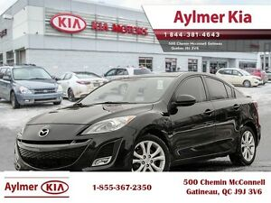 2011 Mazda Mazda3 GT Leather, Sun Roof