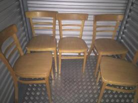 5 x kitchen chairs £25.00
