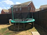 10ft Trampoline with Netting and Ladder