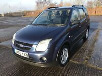55 REG SUZUKI IGNIS GLX 4 GRIP 4X4 IMMACULATE THROUGHOUT £1599