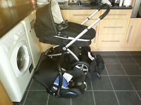 Mothercare MY4 Pram and Pushchair