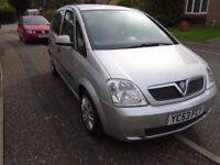 VAUXHALL MERIVA ,very nice condition, 12 months m.o.t