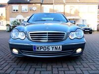 MERCEDES C220 CDI AVANGARDE SE AUTOMATIC 4 DOOR SALOON FSH HPI CLEAR EXCELLENT CONDITION