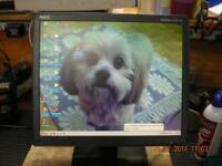 "LCD MONITOR 17"" USED A QUALITY"