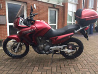 LOW MILEAGE GREAT CONDITION HONDA TRANSALP XL650V from 2007