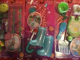 Our generation doll/my life doll accessories
