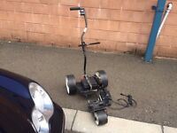 "Fraser Electric Golf Trolley Foldaway ""YES IT'S IN WORKING ORDER """