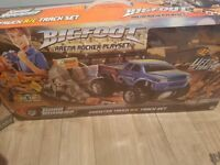 Remote control monster truck track