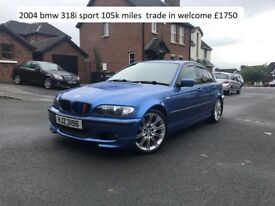 2004 bmw 318i sport , TRADE IN WELCOME