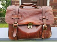 Italian Executive Leather briefcase