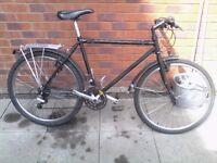 Black bike for sale
