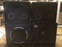 PA Speaker Cabinets
