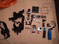 GoPro Hero 3 Black Edition with a ton of peripherals (64 GB)