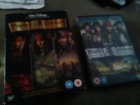 Pirates of the Caribbean DVD Collection for sale.