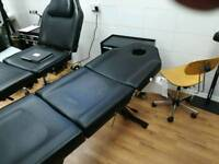 Massage/therapy/tattoo bed