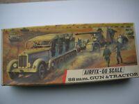 Vintage Airfix 88MM Gun & Tractor (Red Stripe) Unopened