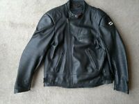 Mens Swift leather motorcycle jacket