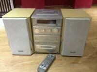 Panasonic HiFi System SA-PM30MD, Minidisc, CD, Tape, Radio