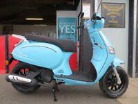 EVOLUTION MOTOR WORKS - Lurgan. *New*Lexmoto 125 Riviera - £1999 OTR. Finance subject to status