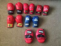 Children's boxing/kickboxing gear