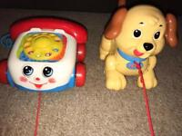 Fisher Price pull along toys